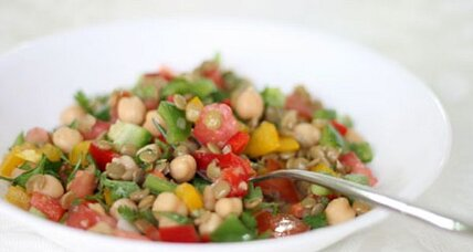 Meatless Monday: Moroccan lentil salad