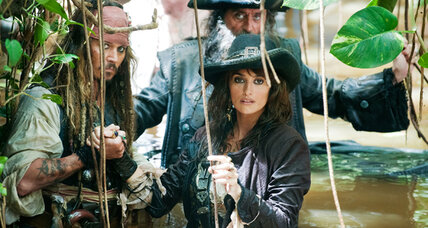 Johnny Depp stars in 'Pirates of the Caribbean: On Stranger Tides'