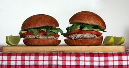 Pork and chipotle sliders