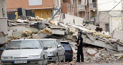 Spain earthquake leaves ancient city perilously fragile