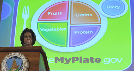 Nutritional coup: 'My Plate' replaces USDA food pyramid