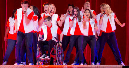 'Glee' actors shed light on writers' methods