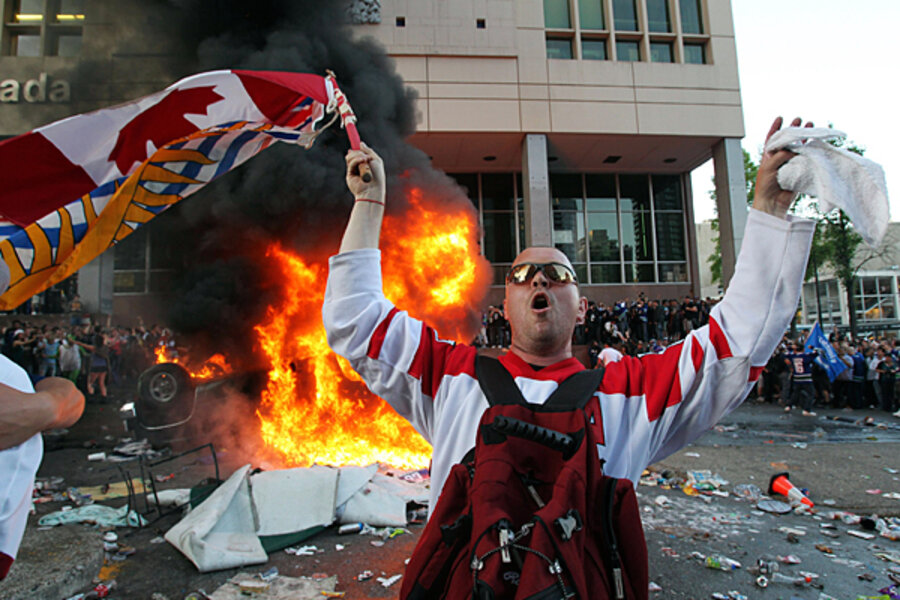 Christian World News >> Vancouver riots have Canadians blushing - CSMonitor.com