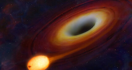 Black hole fires beam of energy at Earth while swallowing star