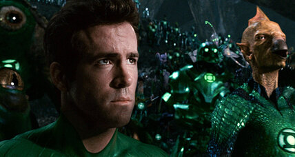 Ryan Reynolds as superhero in 'Green Lantern': movie review