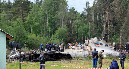 Russian plane crash highlights concern about Soviet-era jets