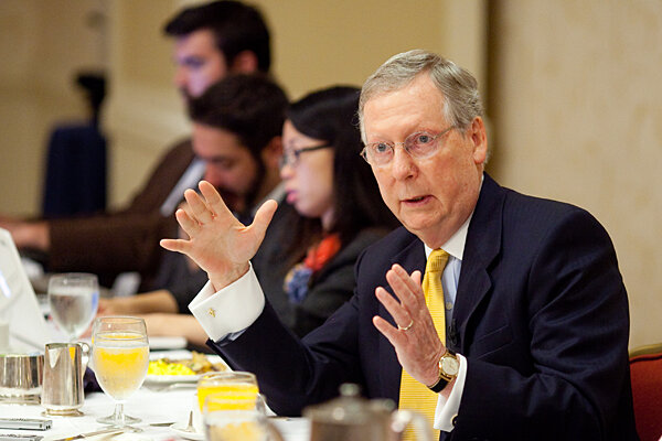 Mitch McConnell says 2012 GOP slogan will be: Obama made ...