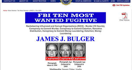 Whitey Bulger arrest: How many of the FBI's 'Most Wanted' get nabbed?