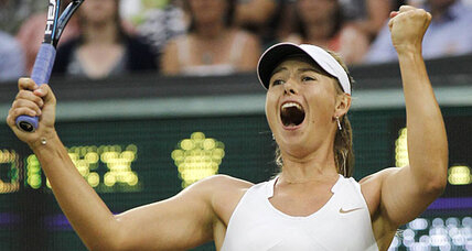 Maria Sharapova goes on to semifinals at Wimbledon