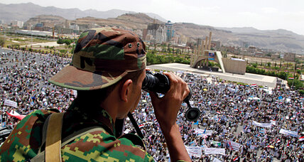Divided by Yemen's Saleh: Two brothers fight on opposite sides