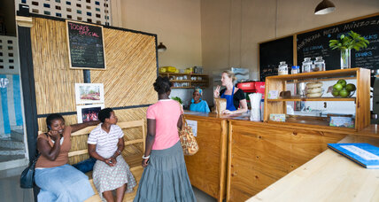 Inzozi Nziza, a social enterprise in Rwanda, sells ice cream and trains entrepreneurs