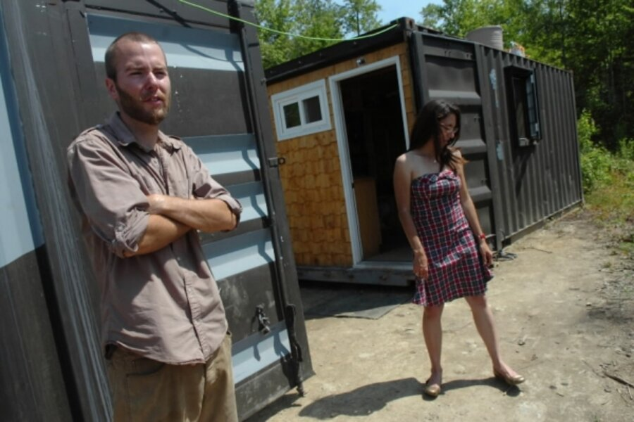 Shipping Containers Become 1 500 Home Csmonitor Com