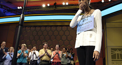 Spelling bee champion triumphs with 'cymotrichous'