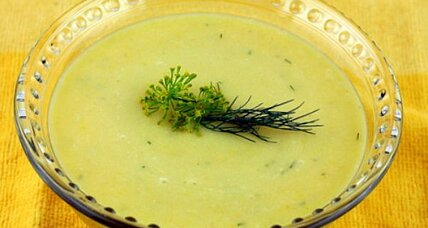 Meatless Monday: Vichysquash chilled soup