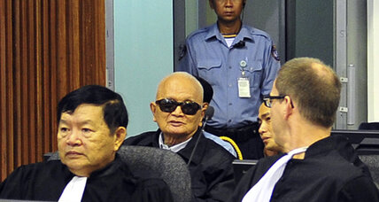 Cambodia's Khmer Rouge genocide trial battles political pressures