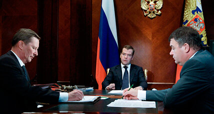Medvedev takes on Russia's outdated military-industrial complex