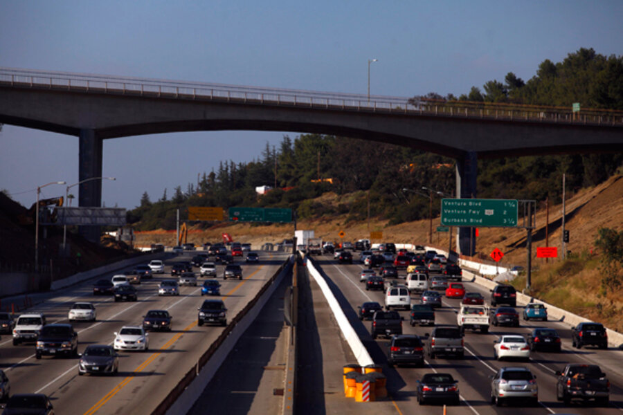 Hunker down or flee? Los Angelenos gird for 'carmageddon' on