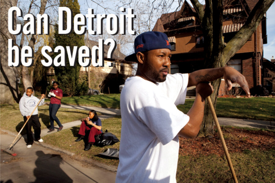 Retooling the motor city can detroit save itself for Motor city towing detroit michigan