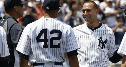 Derek Jeter homers for 3,000th hit, first Yank to do it