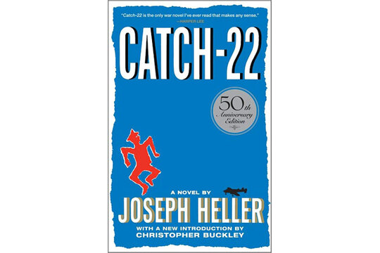 yossarians opposition to war in catch 22 a novel by joseph heller Catch-22 is a 1961 satirical, historical novel about american servicemen during world war ii by american author joseph heller heller was born on may 1, 1923, and died december 12, 1999.
