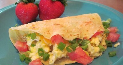 Meatless Monday: Polenta breakfast wraps