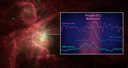 Oxygen molecules discovered in space. Do astronauts really need space suits?