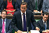 Cameron denounces UK rioters as 'immoral.' But he's under fire, too.