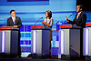 Invisible presence at GOP debate in Iowa: Rick Perry