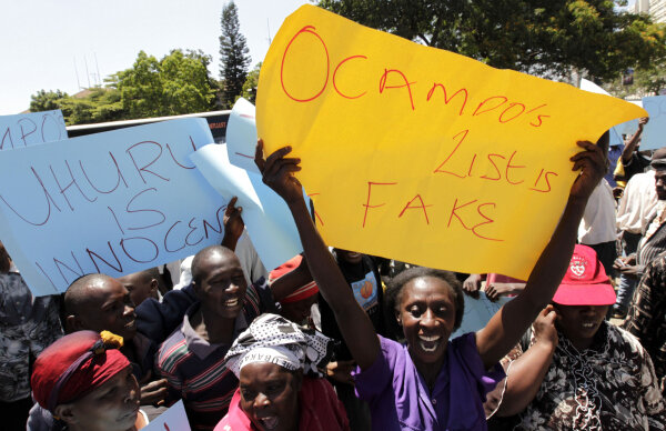 Kenya's 'Ocampo Six' soon to clear last hurdle before ...