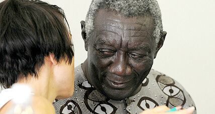 John Kufuor helps transform Ghana into a model for African agriculture