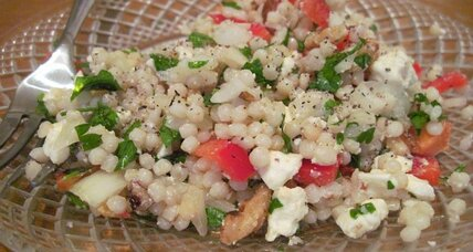 Meatless Monday: Israeli cous cous salad