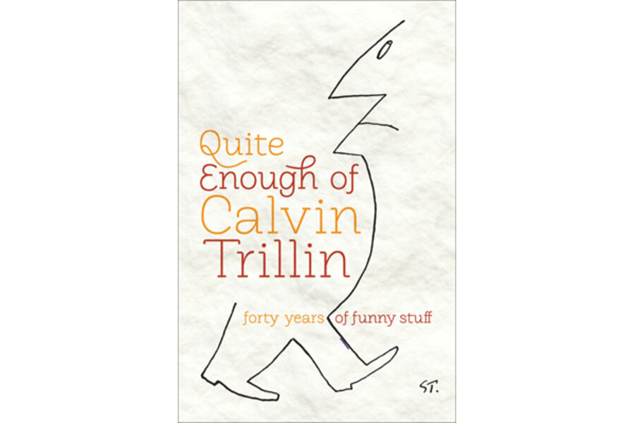 traditional family essay calvin trillin A rumor of noir: calvin trillin around town(s) or family values as such, these essays doubtless the more traditional gambit would.