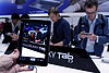 Tech companies do battle via tablets and smartphones at Berlin electronics fair