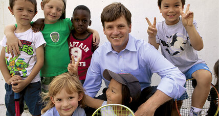 Ned Eames uses tennis to boost inner-city reading skills and graduation rates