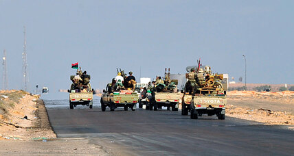 Libya's interim leaders confront tough task: disarming militias