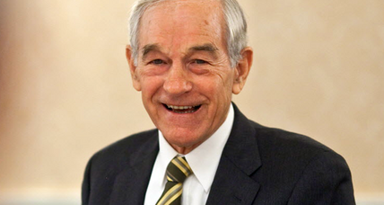 Ron Paul to Jon Stewart: thanks for the help