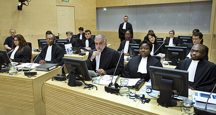 Kenyans watch as their leaders take the stand at ICC hearing