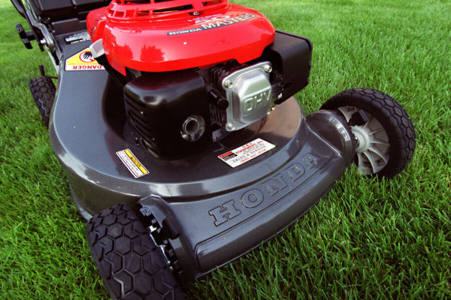 Electric Vs Gas Lawnmowers Which Is Cheaper Csmonitor Com