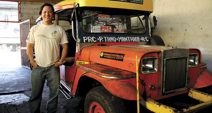 Post oil: Microloans and cooking oil green-up 'jeepneys'