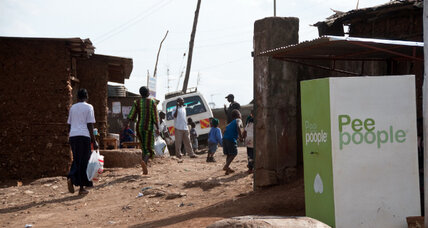'Mama Poo' brings simple sanitation to a Kenyan slum