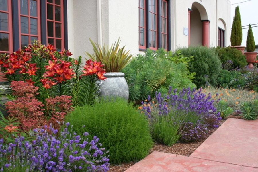For a waterwise landscape, consider Mediterranean garden design ...