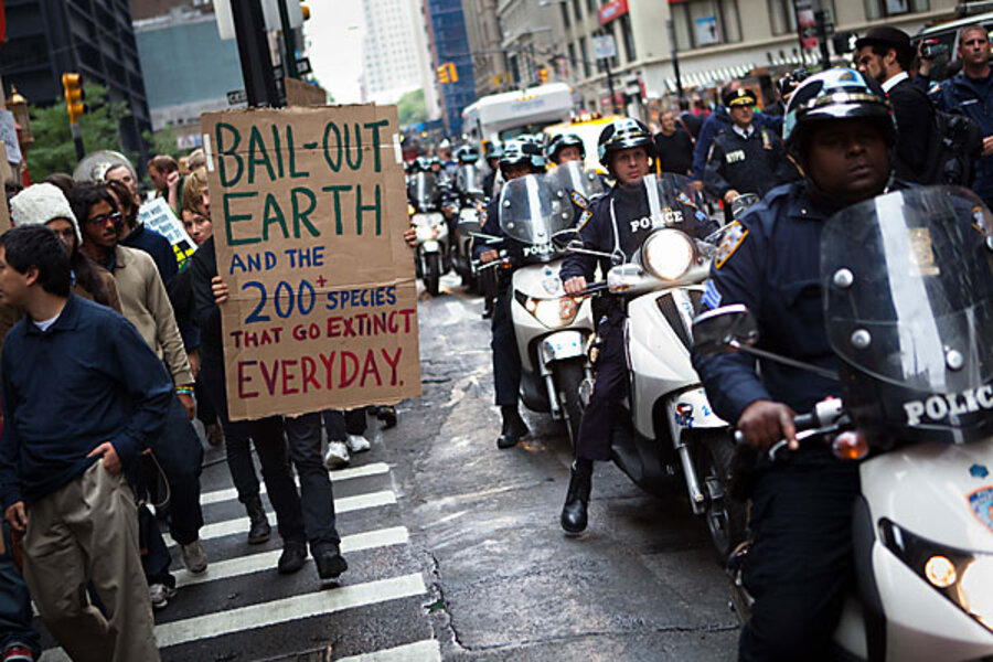 Wall Street protests: On Day 3, seven arrests - CSMonitor com