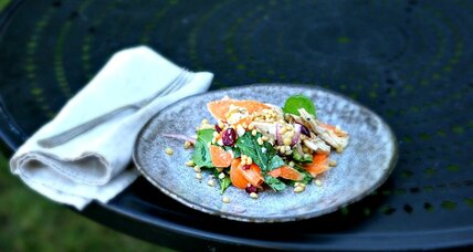 Chicken wheatberry salad