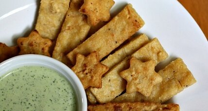 Meatless Monday: Chickpea fries with Athena dipping sauce