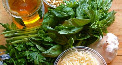 Perfect basil pesto