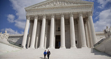Supreme Court justices find government line in church-state case 'amazing'