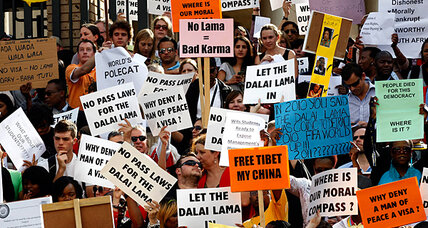 A South African visa for the Dalai Lama? Not as simple as it sounds.