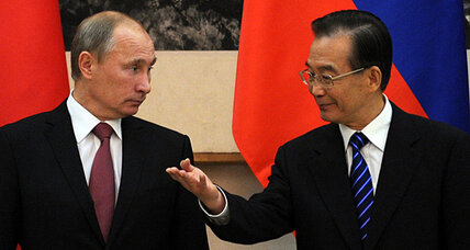 What Putin wants from China