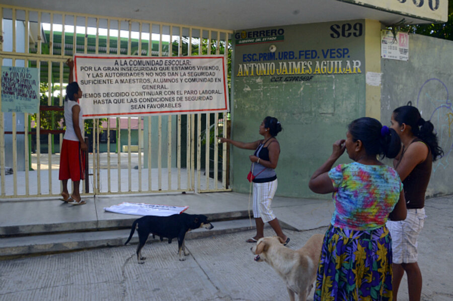 Schools Shuttered In Acapulco Show Impact Of Mexican Drug