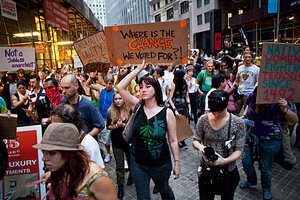Does Occupy Wall Street have leaders Does it need any